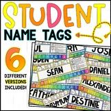 Editable Student Desk Name Tags!