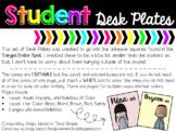 Editable Student Desk Plates {Melonheadz Edition} Fits Tar