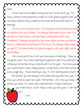 End of Year Student Editable Letter F-R-E-E for Elementary