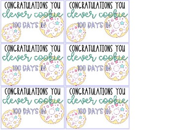 Editable Student Gift Labels