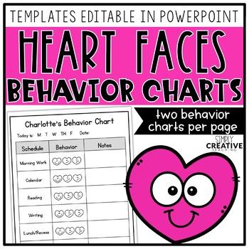 Editable Student Individual Behavior Chart - February