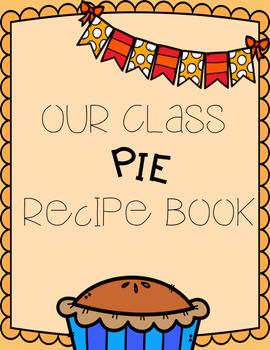 Editable Student Pie Recipe