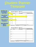 Homework Planner & Behavior Report for School-Home Communication