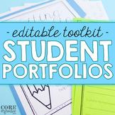 Editable Student Portfolio Toolkit