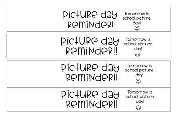 Editable Student Reminder Bracelets