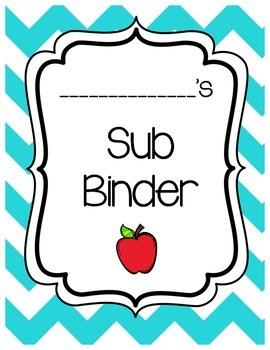 Editable Sub Binder