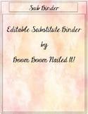 Editable Sub Binder Documents