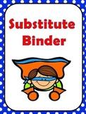 Editable Sub Binder- Super Hero