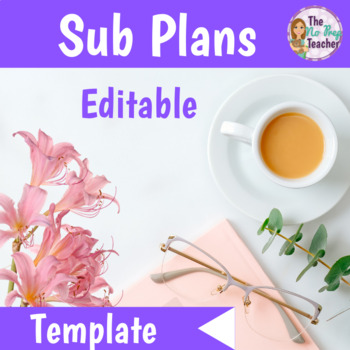 Editable Sub Plans Template