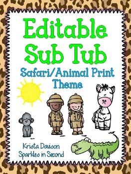 Editable Sub Tub
