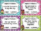 Editable Subject & Predicate Task Cards PLUS Cooperative L