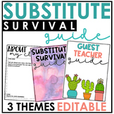 Editable Substitute Binder: Everything You Need & More!