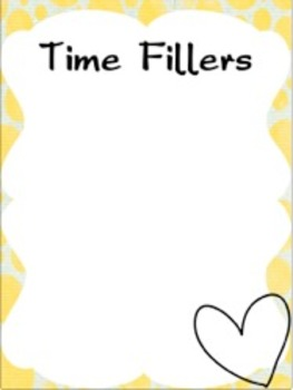 Editable Substitute Binder (School Theme)