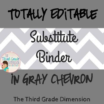 Sub Binder EDITABLE