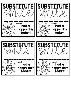 The Organized Teacher- Editable Substitute Notebook