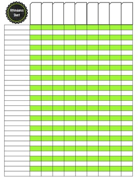Substitute Teacher Binder: Pink and Green Theme - Editable