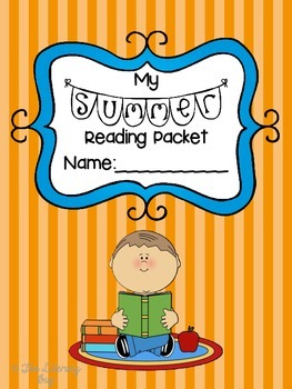 {{Editable!}} Summer Reading Packet