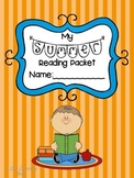 {{Editable!}} Summer Reading Packet