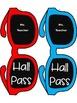Editable Sunglass Hall Passes FREE!