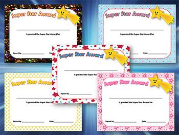 Editable Awards and Editable Certificates