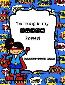 Teacher Lesson Plan Binder Resources {Editable}