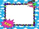 Editable Superhero Power Point Templates & Interactive Review Game