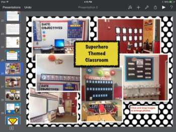 Editable Superhero Themed Open House Powerpoint Presentation