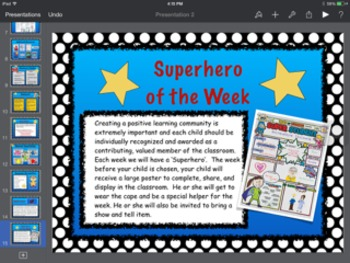 Editable Superhero Themed Open House Powerpoint Presentation
