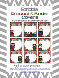 Editable Superheroes Binder Covers