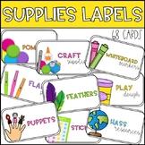 #ausbts18 Editable Supply Tub Labels