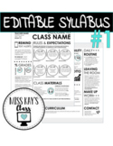 Editable Syllabus #1
