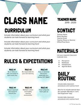 Editable Syllabus #2 (Power Point)