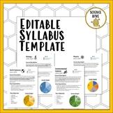 Editable Syllabus Template - Science