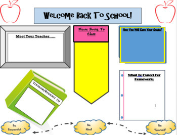 Editable Syllabus Template  for Back to School