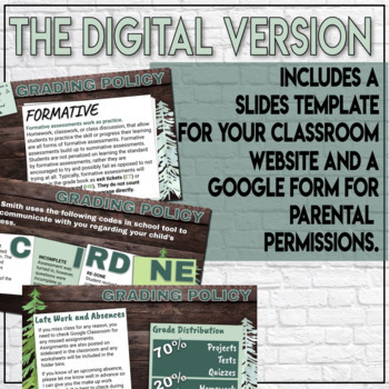 Syllabus Template For Social Studies Engaging Infograph Style