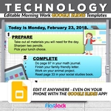 Editable TECHNOLOGY GOOGLE SLIDES Templates