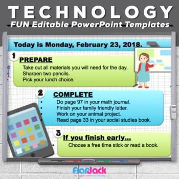 Editable TECHNOLOGY PowerPoint Templates