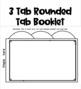 Editable Tab It Book Templates: 5, 4, 3 Tab Booklets