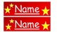 Table place names or classroom labels (Editable)