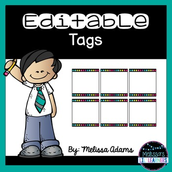 Editable Tags