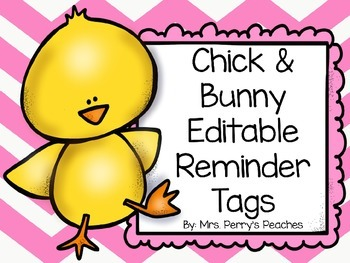 Editable Tags for Spring!