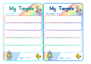 Editable Target Learning Objective Book Labels