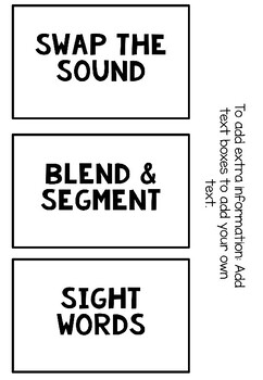 Editable Task Box Labels