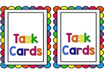 Editable Task Card Labels