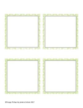 Editable Task Cards- Free!