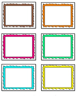 Task Cards Template