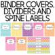 Editable Teacher Binder {Updated Through 2018}