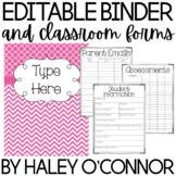 Editable Teacher Binder, Planner and Classroom Forms {Updated Through 2025}