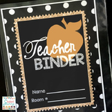 Teacher Binder 2019-2020 Editable Teacher Planner