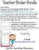 Editable Teacher Binder Planner {Watercolor Theme}